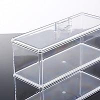 Fashion Clear Makeup Organizer Acrylic Storage Box Cosmetic Organizer-Y-2803A