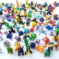Bộ sưu tập mô hình đồ chơi Pokemon 144 chi tiết