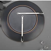 Set cặp muỗng khuấy nước đa năng inox 304 - 17.2x1.3cm 24g
