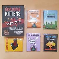 Set Mèo Nổ Kinh Điển: Combo Mèo Nổ Exploding Kittens Đen + 05 Bản Mở Rộng