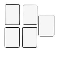 Bộ 5 bìa thực đơn Urimenu trong suốt A4 viền may 2 kim màu đen cho nhà hàng, quán cafe
