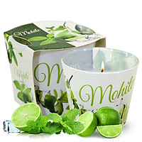 Ly nến thơm tinh dầu Bartek Mohito 115g QT028230 - hương bạc hà (giao mẫu ngẫu nhiên)