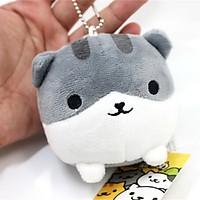 Móc khóa gấu bông mèo Neko Atsume (8 cm)