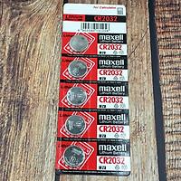 Pin CR2032 Maxell Lithium 3V vỉ 5 viên