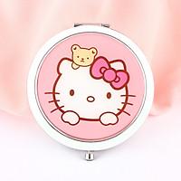 Gương gập tròn Đầu Hello Kitty Gấu