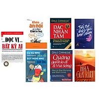 Combo 7 Cuốn Tủ Sách Tinh Hoa : Nhà Giả Kim + Đắc Nhân Tâm + Đọc Vị Bất Kỳ Ai + Khéo Ăn Nói Sẽ Có Được Thiên Hạ + Cư Xử Như Đàn Bà Suy Nghĩ Như Đàn Ông + Tuổi Trẻ Đáng Giá Bao Nhiêu + Quẳng Gánh Lo Đi Và Vui Sống