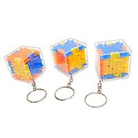 Combo 3 Móc Khóa Khối Lập Phương Rubik 3D Mê Cung Kỳ Diệu