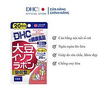 Viên Uống Mầm Đậu Nành DHC Soy Isoflavone Absorption Type 20 Ngày