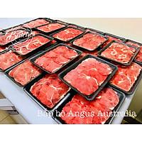 [Chỉ giao HN] Bắp Bò Úc  (cắt xào/lẩu) 200gr/khay