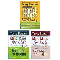 Combo 3 cuốn của tác giả Tony Buzan: Nền Tảng Và Ứng Dụng Của Bản Đồ Tư Duy  + Bí Quyết Học Giỏi Ở Trường + Các Kỹ Năng Học Giỏi/  Những phương pháp học tập hiệu quả nhất