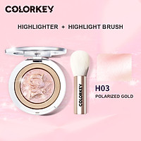 Colorkey tokidoki high CD repair capacity brightening stereo ginger color glitter gloss brightening Contour Flagship Store contour palette contour palette contour stick contour cream contour stick colourful highlighter stick Pressed powder