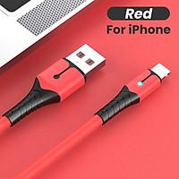 Dây Cáp Sạc Truyền Dữ Liệu Usb Bằng Silicone Cho Iphone 12 Mini 12 Pro Max X Xr 11 Xs 8 7 6s