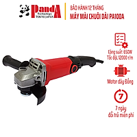 Máy mài cầm tay Panda PA100A, 650W, mài góc, đánh bóng vật dụng, máy cắt cầm tay