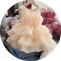 Đầm công chúa voan phồng xòe cho bé TIỆM CÔNG CHÚA NHỎ Váy Công Chúa Dễ Thương Cho Bé