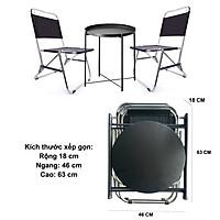 ghế dù xếp inox và bàn trà chanh cao cấp, ghế dù câu cá, ghế dù lưng thấp, ghế xếp du lịch, ghế dù đi câu, ghế cafe, bàn tròn xếp gọn- Giga house