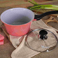 Nồi đá Ecoramic 18cm cao cấp chống dính ceramic siêu bền – có tay cầm (18 Sauce pan_IH)