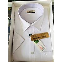Áo trắng vạt ngang