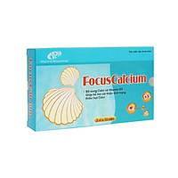 Viên uống Canxi FocusCalcium dạng hộp (3 vỉ x 10 viên) - Chính hãng