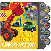 10-Button Super Sound Books - I Can Hear Construction