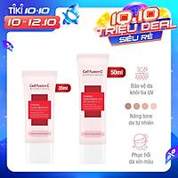 Kem Chống Nắng Cell Fusion C Toning Sunscreen 100 SPF50+/ PA +++ Nâng Tông Sáng Hồng