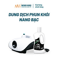 Dung dịch phun khói Nano bạc diệt khuẩn khử mùi ô tô, nhà cửa, văn phòng Nano Reiwa 1 lít (hàng chính hãng)