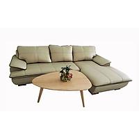 Bộ Sofa Kiểu Hot_Màu Vàng Ánh Đồng Viền Nâu_Size 2500 x 1650