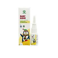 Lọ xịt mũi kháng khuẩn cho trẻ em MATARA BABY NOSE - Phòng ngừa viêm xoang, các triệu trứng liên quan đến đường hô hấp