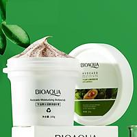 Hũ tẩy tế bào da chết Body Bioaqua Avocado ,Scrub quả bơ dịu nhẹ làm sạch da 100g