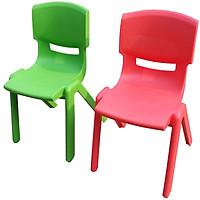 combo 2 ghế tựa trẻ em 2398 Song Long- Màu ngẫu nghiên
