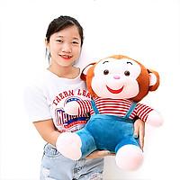 Gấu bông khỉ cười cao cấp size 60cm