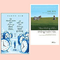 Combo 2 cuốn: Có Thanh Xuân Nào Không Đau Đớn, Có Tuổi Trẻ Nào Không Bão Giông + Yêu Những Điều Không Hoàn Hảo
