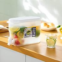 Bình đựng nước có vòi 3.5L Bình nhựa cao cấp để tủ lạnh thông minh