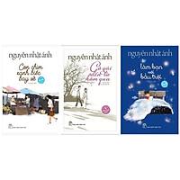 Combo sách hay của Nguyễn Nhật Ánh: Con Chim Xanh Biếc Bay Về (Bìa Mềm) + Cô Gái Đến Từ Hôm Qua + Làm Bạn Với Bầu Trời