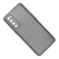 Ốp lưng cho OPPO Reno4 Pro chất liệu silicon dẻo màu đen chống sốc