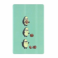 Samsung Galaxy Tab A7 10.4 2020 SM-T500 T505 T507 Ultra-thin Flip Leather Case Cute Pattern Fold Stand Tablet Cover