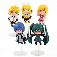 Bộ Mô Hình 5 Nhân Vật Hatsune Miku