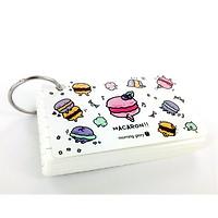 Flash Card Dessert (88*56mm) - Morning Glory 79995 - Màu Trắng