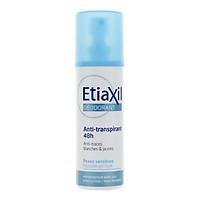 Xịt Khử Mùi Hàng Ngày Etiaxil Déodorant Anti-Transpirant 48h Anti-Traces Blanches & Jaunes 100ml