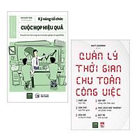 Combo (2 Cuốn) Sách Kỹ Năng Làm Việc Hiệu Quả: Kỹ Năng Tổ Chức Cuộc Họp Hiệu Quả - Bí Quyết Làm Việc Sáng Tạo Và Chuyên Nghiệp Của Người Nhật + Quản Lý Thời Gian Chu Toàn Công Việc