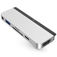 Cổng chuyển chuyên dụng Hyperdrive 6-in-1 HDMI 4K/60Hz USB-C Hub - (HD-HD319B) - Hàng chính hãng