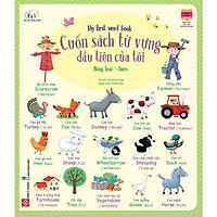 Cuốn Sách Từ Vựng Đầu Tiên Của Tôi - My First Word Book- Nông Trại - Farm