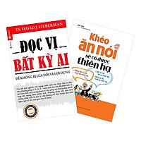 Combo Đọc Vị Bất Kỳ Ai + Khéo Ăn Nói Sẽ Có Được Thiên Hạ (2 cuốn)