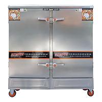 Tủ Nấu Cơm 24 Khay Điện Gas - Hàng Chính Hãng