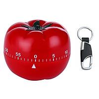 Đồng hồ tối ưu năng suất công việc Pomodoro (Đỏ) - Tặng 1 móc khóa đen bạc cao cấp