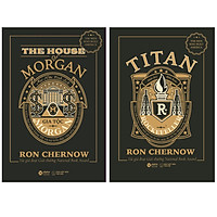 Bộ 2 Cuốn Về Hai Gia Tộc Lừng Lẫy : Gia Tộc Morgan + TiTan - Gia Tộc Rockefeller (Bìa Đen)