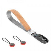 Dây Đeo Máy Ảnh Peak Design Cuff Wrist (Xám)  - Hàng Nhập Khẩu