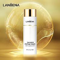 LANBENA Toner Vitamin C Whitening Pimple Cure 24K Peptide Anti-aging Oil Control Shrink Pores Skin Care 100ml