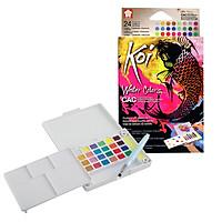 Bộ Màu Nén Koi Water Color CREATIVE ART + Brush