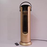 Quạt sưởi gốm T100-480 có điều khiển. Làm ấm nhanh - Tiết kiệm điện - Kiểu dáng hiện đại + Tặng kèm 1 bật lửa