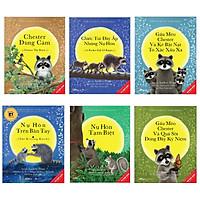 Combo 6 cuốn picture book song ngữ: Nụ Hôn Trên Bàn Tay +  Chester Dũng Cảm + Những Chiếc Túi Đầy Ắp Những Nụ Hôn + Gấu Mèo Chester Và Kẻ Bắt Nạt To Xác Xấu Xa +  Nụ Hôn Tạm Biệt + Gấu Mèo Chester Và Quả Sồi Đong Đầy Kỉ Niệm ( Dành cho trẻ từ 3-8 tuổi) ( Tặng kèm Bookmark  Happy Life)